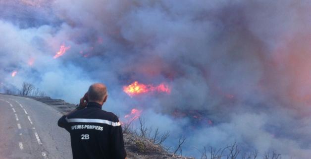 Incendies : L'hommage de Pierre Chaubon, maire de Nonza
