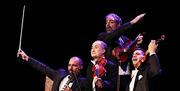 Le Groupe Paganini (Photos Roland Huitel)