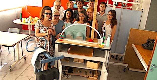 Hôpital de Bastia : L'association « In memoria à Vincentu » offre trois appareils au SSRF