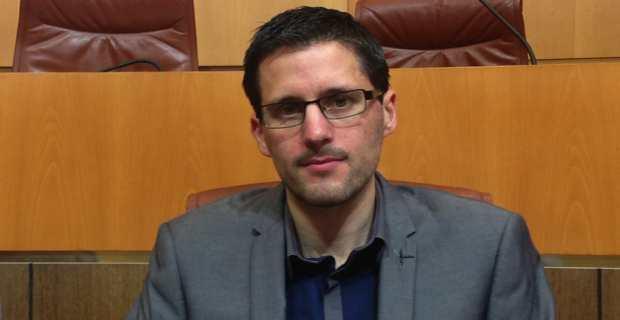 Petr'Anto Tomasi, président du groupe Corsica Libera à l'Assemblée de Corse.