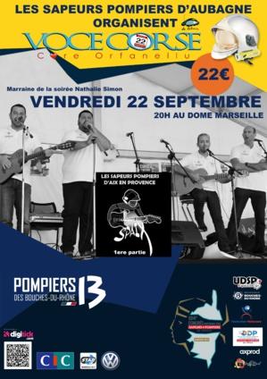 """""""Voce Corse"""" et 'Core d'Orfanellu"""" : Concert de la solidarité à Marseille"""
