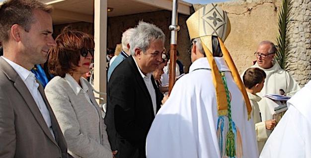 Festa di a Madonna di a Sarra avec l'évêque de Corse