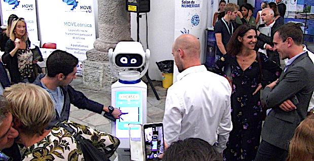 Salon du numérique : Bastia à l'heure des robots !