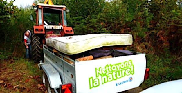 """Ajaccio : Opération """"Nettoyons la Nature"""" avec les centres Leclerc"""