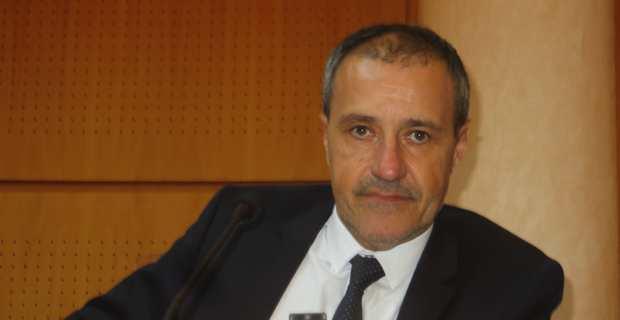 Jean-Guy Talamoni, président de l'Assemblée de Corse.