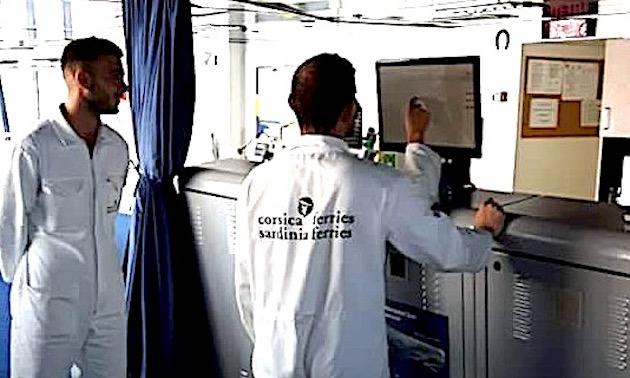 Quatre navires de la Corsica Ferries prêts pour l'observation et la préservation des cétacés