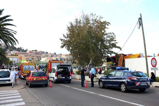 Un adolescent sérieusement blessé dans une collision à Calvi