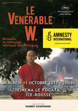"""""""Le vénérable W"""" : Projection le 11 octobre à L'Ile-Rousse"""