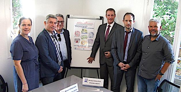 Les responsables CRA, ARS et PEP 2B ont présenté la campagne de dépistage de l'autisme