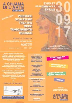 Peinture, sculpture, collage :  A Chjama di l'Arte expose à Ajaccio