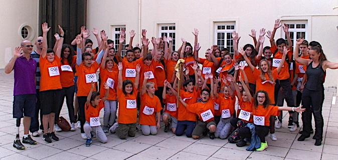 Bastia : Quand Dumè Benassi transmet sa flamme aux collégiens …