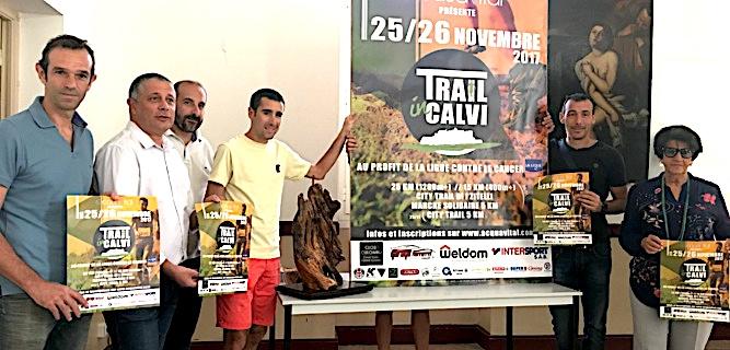 Trail in  Calvi : Les 25 et 26 Novembre prochains