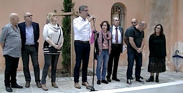 Bastia : Les abords de la chapelle de l'Annonciade réhabilités
