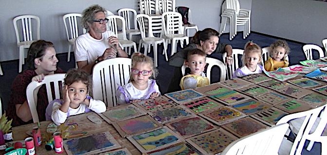 Furiani : Ateliers de peinture et création pour les scolaires d'U Rustincu