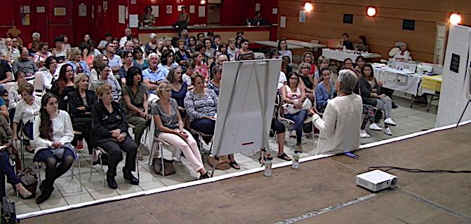 Bastia : « Rencontre en conscience – oser être » à la salle polyvalente de Lupino