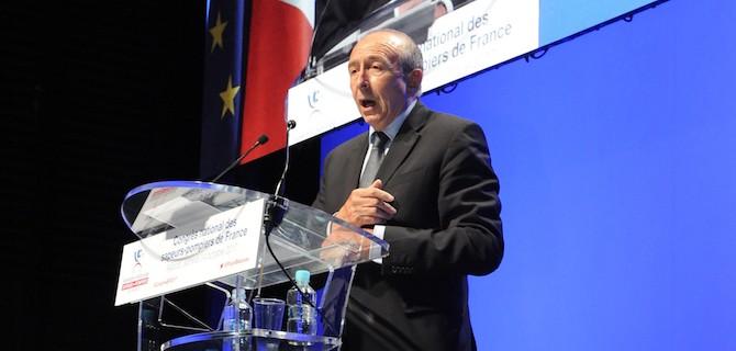"""Gérard Collomb aux Sapeurs-Pompiers en congrès à Ajaccio : """"Vous forcez le respect !"""""""