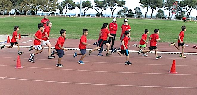 Athlétisme : Les samedis des tout-petits à l'Arinella