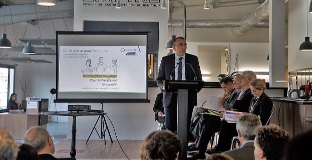 Jean-Christophe Angelini Président de l'ADEC.