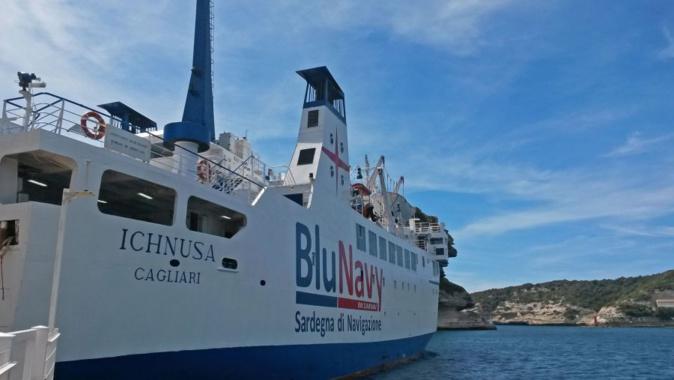 """Liaisons maritimes Corse-Sardaigne : La """"Blu Navy"""" a transporté 124 000 passagers durant la saison estivale"""
