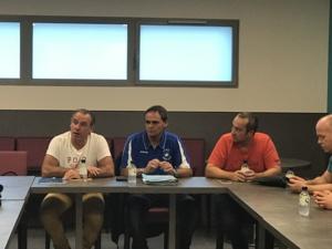 De gauche à droite François Clinet, Président National de l'ATSCAF et Jean-Pierre Poli, Président de l'ATSCAF 2B
