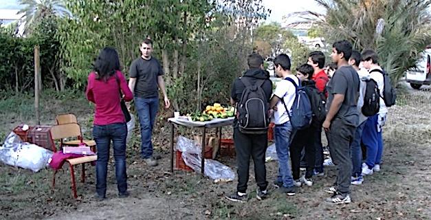 """Lycée agricole de Borgo : """"Stop aux pesticides en Région Corse"""""""