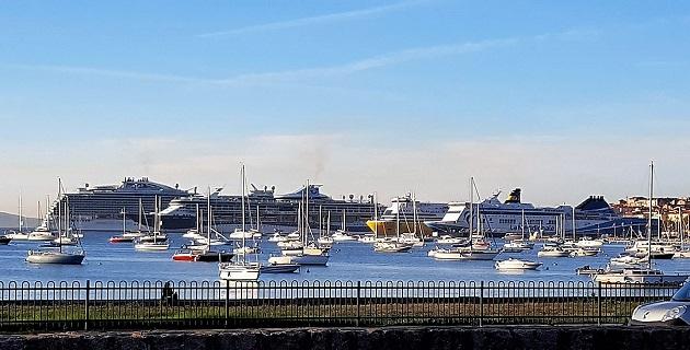 Le port d'Ajaccio affichait complet jeudi