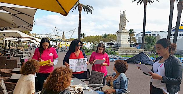 Octobre Rose : Des étudiants du lycée Jean-Nicoli de Bastia se mobilisent