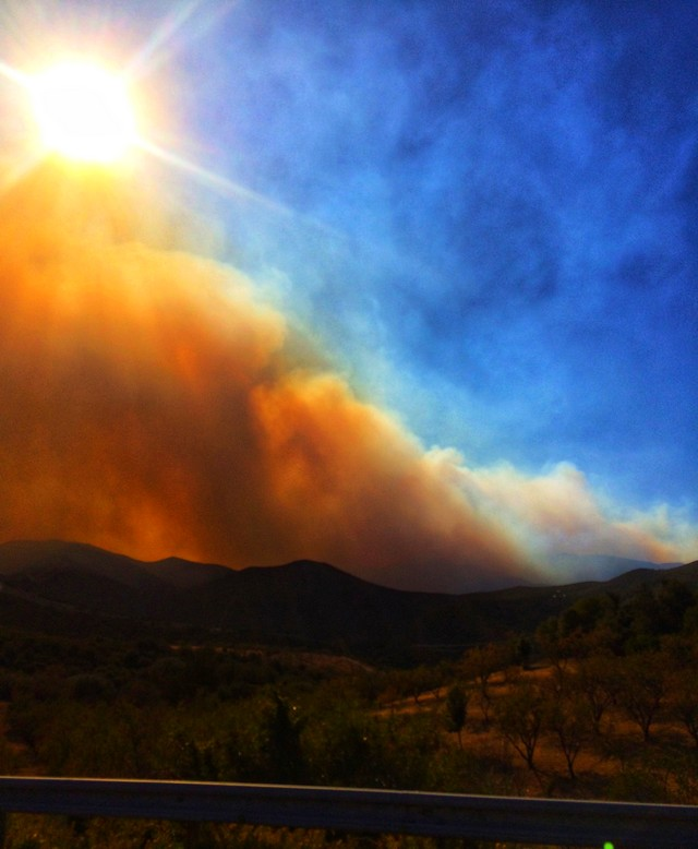Un incendie ravage près de 2.000 hectares — Corse