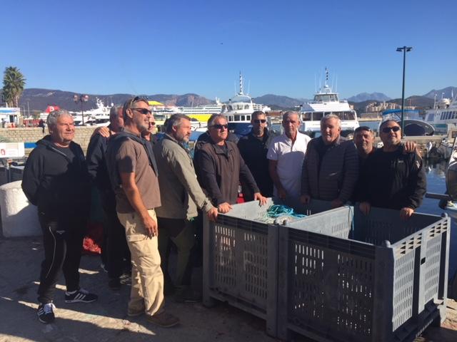 Xavier d'Orazio convoqué devant le tribunal jeudi : Les pêcheurs d'Ajaccio solidaires de leur Premier Prud'homme