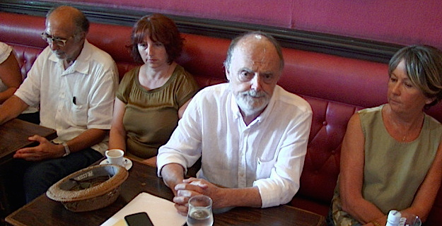 Ghjiseppu Maestracci président d'Ava Basta et le collectif I Paceri per Viaghju en Septembre dernoer…