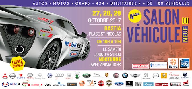 Bastia : Le 4ème salon de l'automobile jusqu'à dimanche