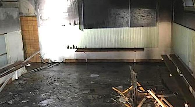 Ajaccio : Un incendie endommage les vestiaires du stade Binda