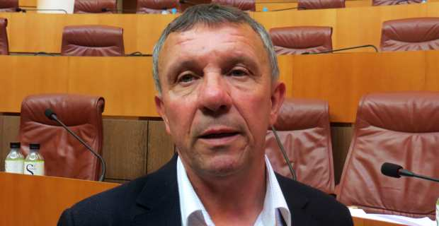 François Sargentini, conseiller exécutif et président de l'ODARC (Office de développement agricole et rural de la Corse).