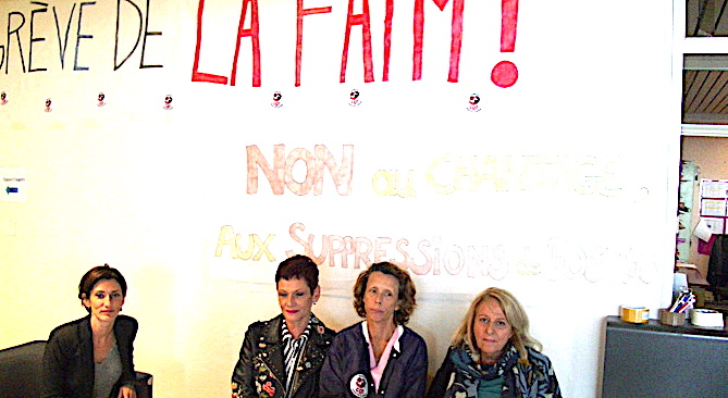 Grève de la faim à l'hôpital — Bastia