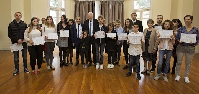 Prix Andria Fazi : Les lauréats sur leur 31