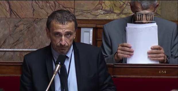Paul-André Colombani, député nationaliste de la 2nde circonscription de Corse du Sud.