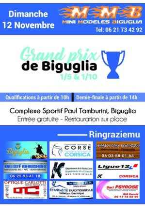 Biguglia : Le grand prix de voitures radio-commandées