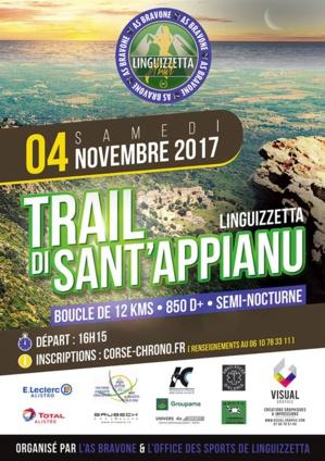 Linguizzetta: Le 1èr trail de Sant'Appianu