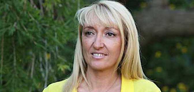 Emmanuelle De Gentili, 1ère adjointe socialiste à la mairie de Bastia, présidente de l'office du tourisme de la Communauté d'Agglomération de Bastia (CAB), et conseillère départementale.