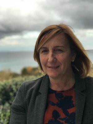 Maddy Cancemi, directrice déléguée du Parc naturel marin di Capicorsu è di l'Agriate.