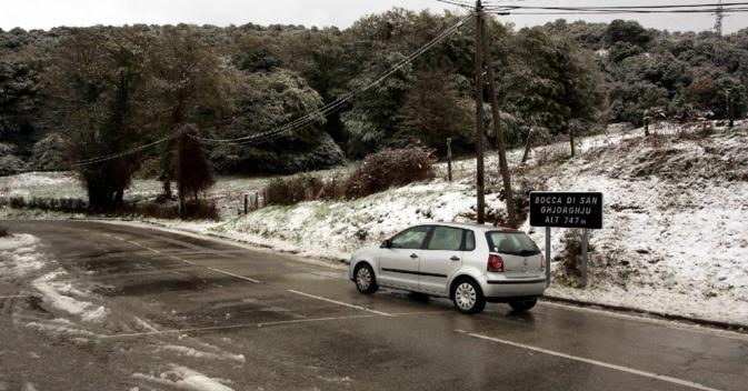 Premières neiges au col Saint-Georges