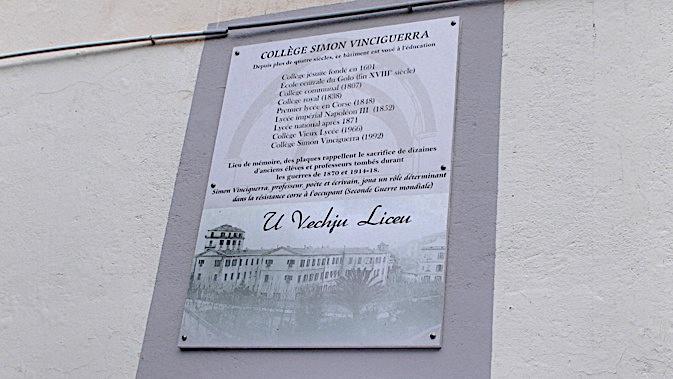Bastia : Une émouvante cérémonie commémorative du 11 novembre au collège Simon-Vinciguerra