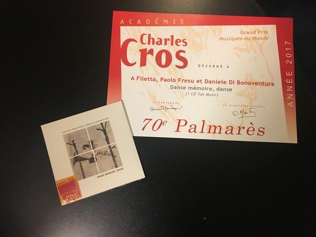 L'Académie Charles-Cros récompense une nouvelle fois A Filetta