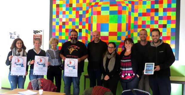 """Les acteurs du dispositif """"Les Promeneurs sur le Net"""" réunis à l'Association familiale du Fium'Alto à Folelli."""