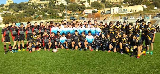 Rugby M 14 : Place aux jeunes à Lumiu