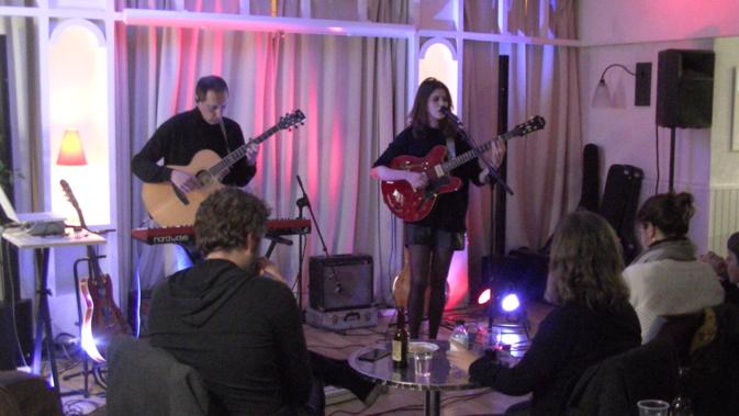 Jeanne Rognoni en concert.