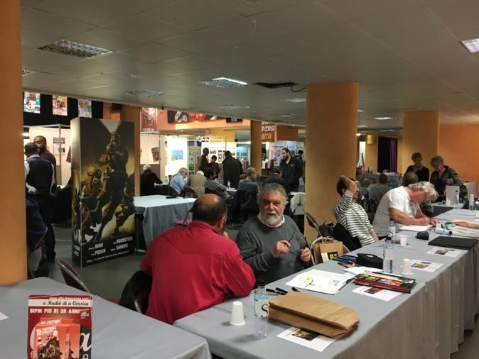 Ajaccio : Coup d'envoi et remise des prix pour le festival de la BD