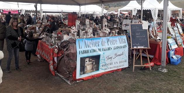 Dixième marché de Noël d'Appietu : Réussite et Savoir-faire confirmés