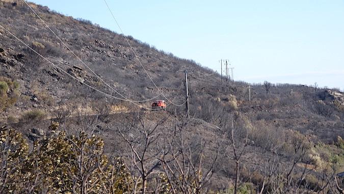 Santa-Maria di Lota : Le feu aux portes des maisons à Partine…