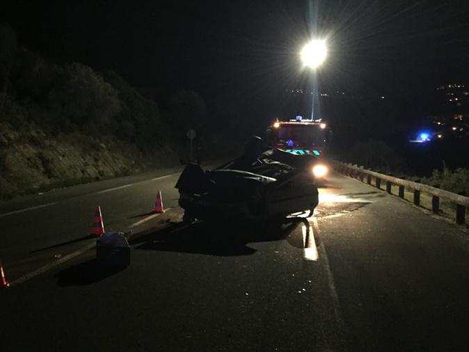 Faits divers : Accident à la sortie de l'Ile-Rousse